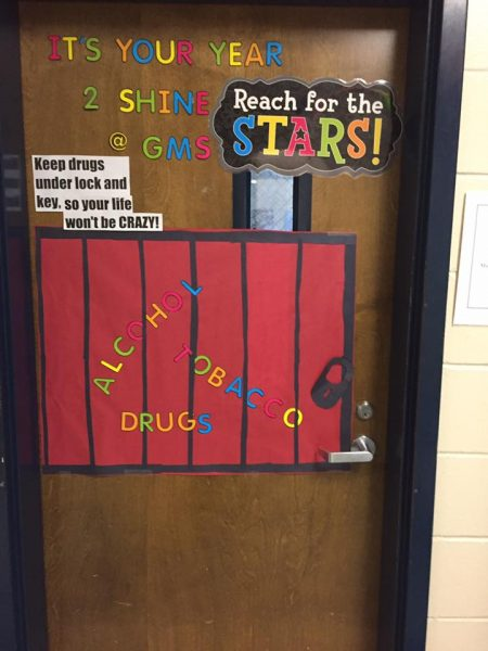 Red Ribbon Week Door Decorating Contest Greenville Middle