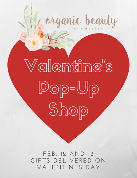 Organic Beauty Valentine's Pop-Up Shop