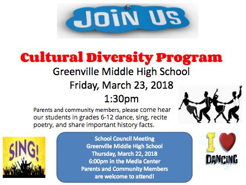 GMHS Cultural Diversity Program