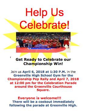 Basketball Championship Pep Rally: Friday, April 6th