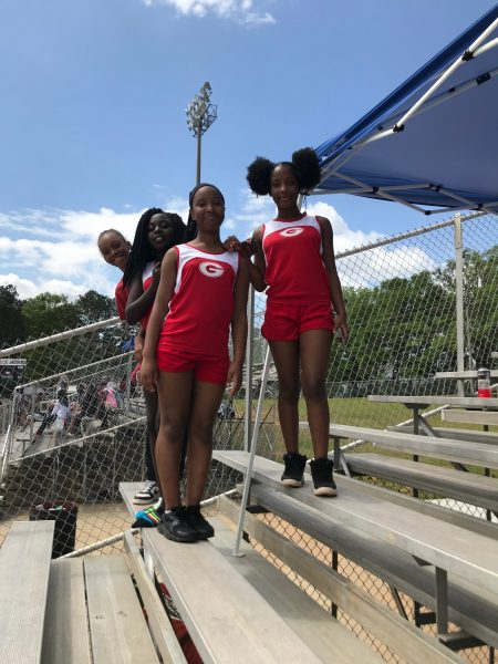 Pictures from GMS Track Meet